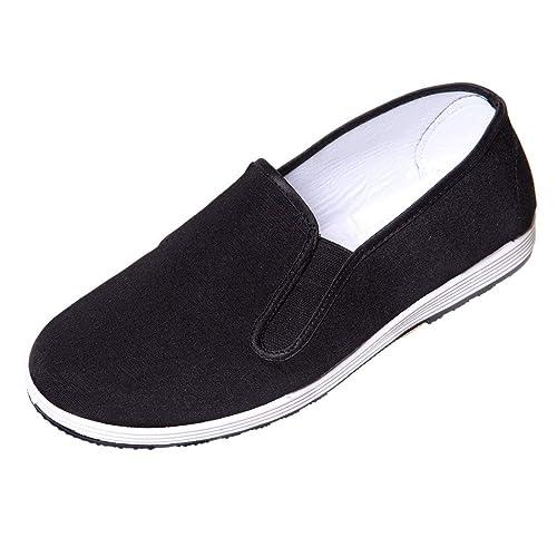 edcc40457eb DoGeek-Zapatillas Kung fu Zapatos Kung fu Unisex Zapatillas de Artes  Marciales (Negro): Amazon.es: Zapatos y complementos