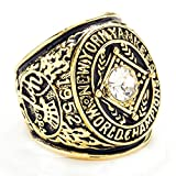 ZNKVJ The 1952 Year Mens New York Yankees Championship Rings,Size 10