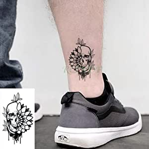 ljmljm 10pcs Impermeable Tatuaje Camellia Rose Tatto Flores ...