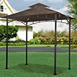 Sunjoy Replacement Canopy Set for LED Lighted Grill Gazebo