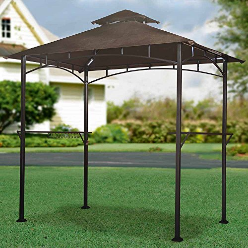UPC 841057132999, Sunjoy Replacement Canopy Set for LED Lighted Grill Gazebo