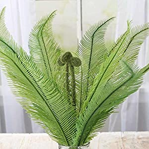 Factory Direct Craft Decorative Artificial Fern and Fiddlehead Bush for Decorating, Creating and Embellishing 119