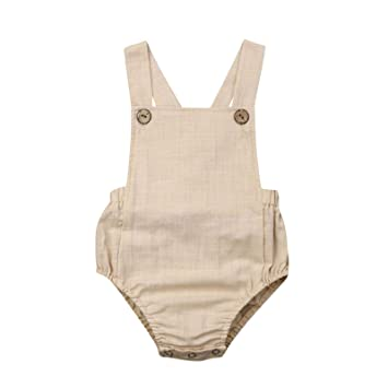 Summer Toddler Infant Baby Boys Girls Solid Stripe ... - Amazon.com
