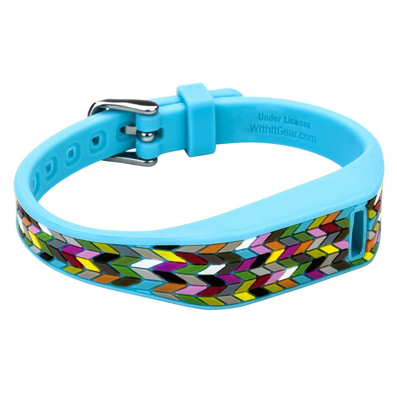 Fitbit French Bull Flex Band with Chrome Clasp - Blue