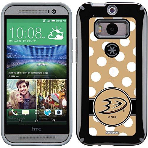 Coveroo Anaheim Ducks Polka Dots Design Phone Case for HT...