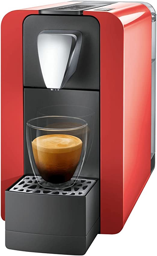 Cremesso by benture Compact One II Glossy Red – Cafetera de ...
