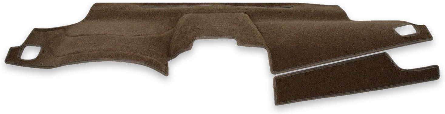 Coverking Custom Fit Dashboard Cover for Select GMC Yukon Denali - Polycarpet (Tan)
