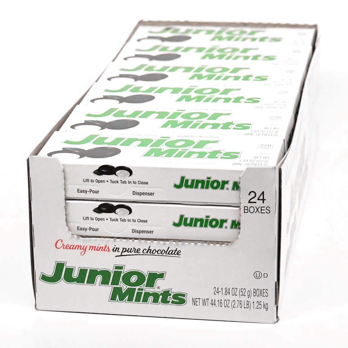 Junior Mints, 1.84-Ounce Boxes (Pack of 24) by Junior Mints (Image #1)