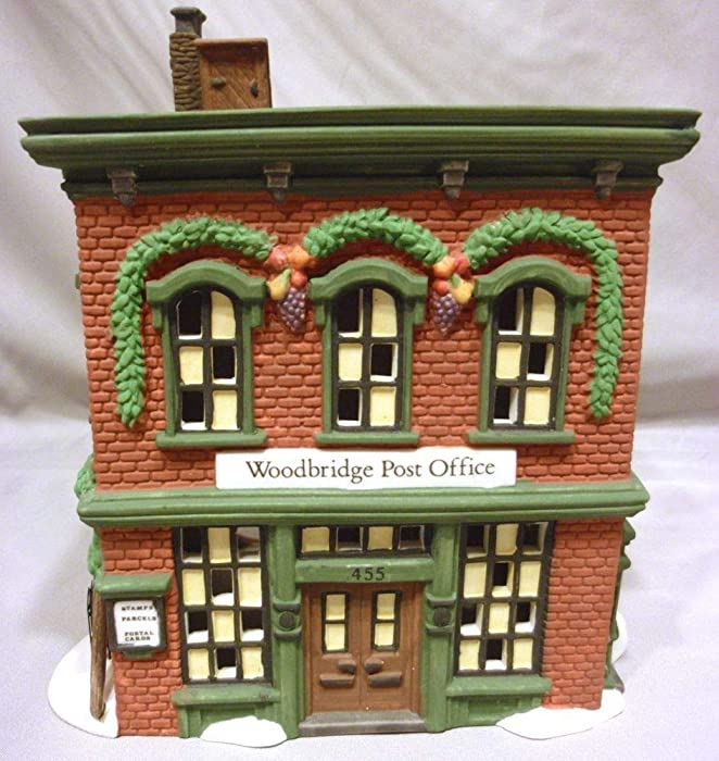 Department 56 New England Village Woodbridge Post Office