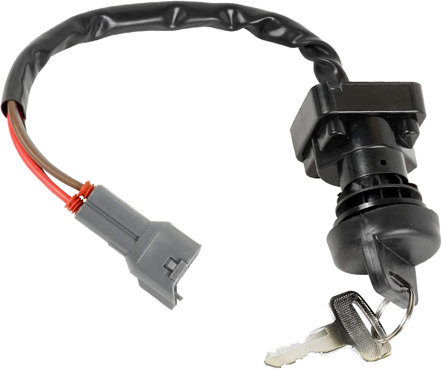 Caltric Ignition Switch Compatible With Arctic Cat 650 V2 V-2 V-TWIN 4X4 2004 2005 2006 0430-036