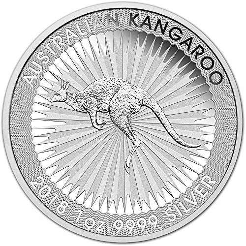 2018 AU Australia Silver Kangaroo (1 oz) $1 Brilliant Uncirculated Perth Mint