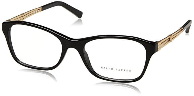 Ralph Lauren Deco Evolution, Monturas de Gafas para Mujer, Black, 54