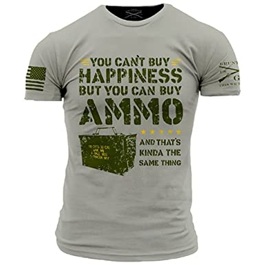 Grunt Style Ammo Is Happiness Men's T-Shirt, ...
