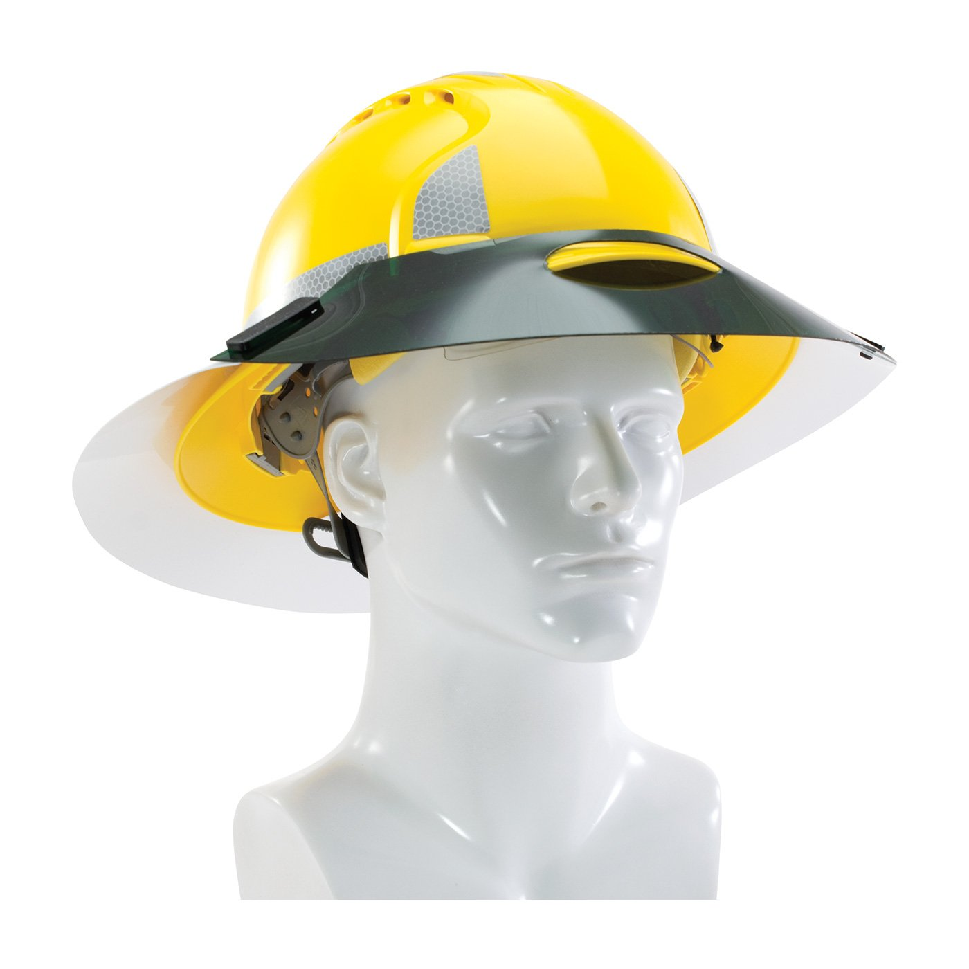 PIP 281-SSE-FB Sun Shade Extensions for Full Brim Hard Hats, Large