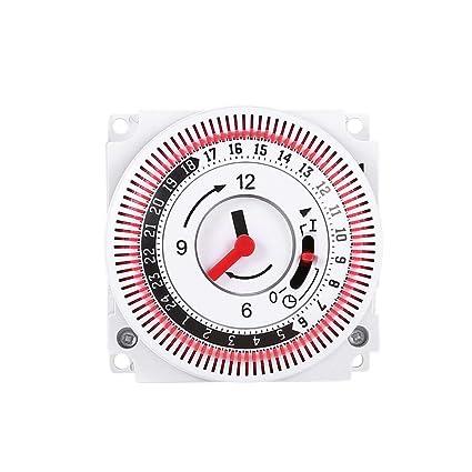 Temporizador mecánico 250 V Recordatorio del Contador de Tiempo ...