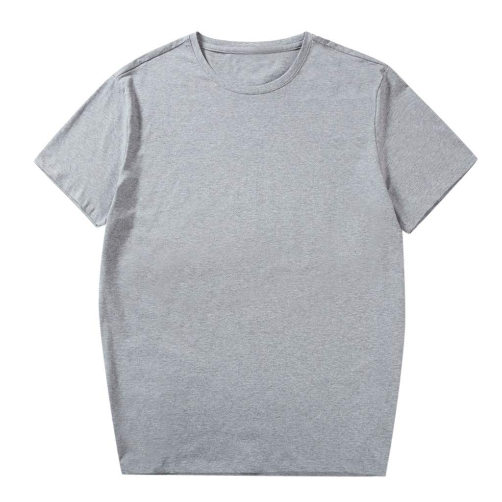 Mens Cotton Linen Henley Shirt Loose Fit Long Sleeve Casual Gray