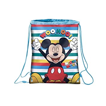STAR LICENSING Sac TOPOLINO Bag Mickey Mouse Disney Bag CM. 43X32.5 - 50281