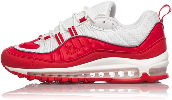 Con rapidez gancho fluido  NIKE Air MAX 98 University Red 640744-602: Amazon.es: Zapatos y complementos