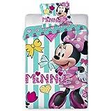 Disney Junior Minnie Mouse Parure de lit pour bébé 100x 135cm