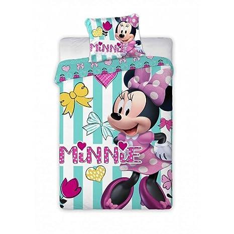 Disney Junior Minnie Mouse Parure De Lit Pour Bebe 100 X 135 Cm