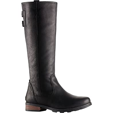 20a57821b0e Image Unavailable. Image not available for. Color  SOREL Womens Emelie Tall  Premium Waterproof Boots ...