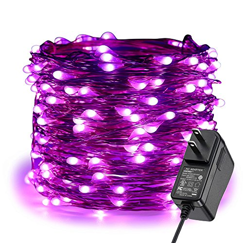 ER CHEN Fairy Lights Plug in, 99Ft/30M 300 LED Starry String Lights Outdoor/Indoor Waterproof Copper Wire Decorative Lights for Bedroom, Patio, Garden, Party, Christmas Tree -