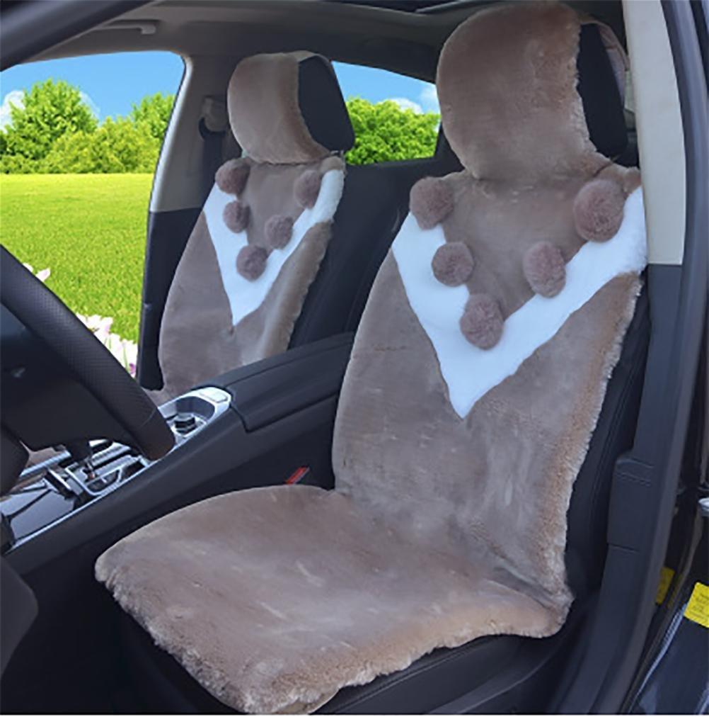 YAOHAOHAO Luxury lambskin seat cover australian coverage