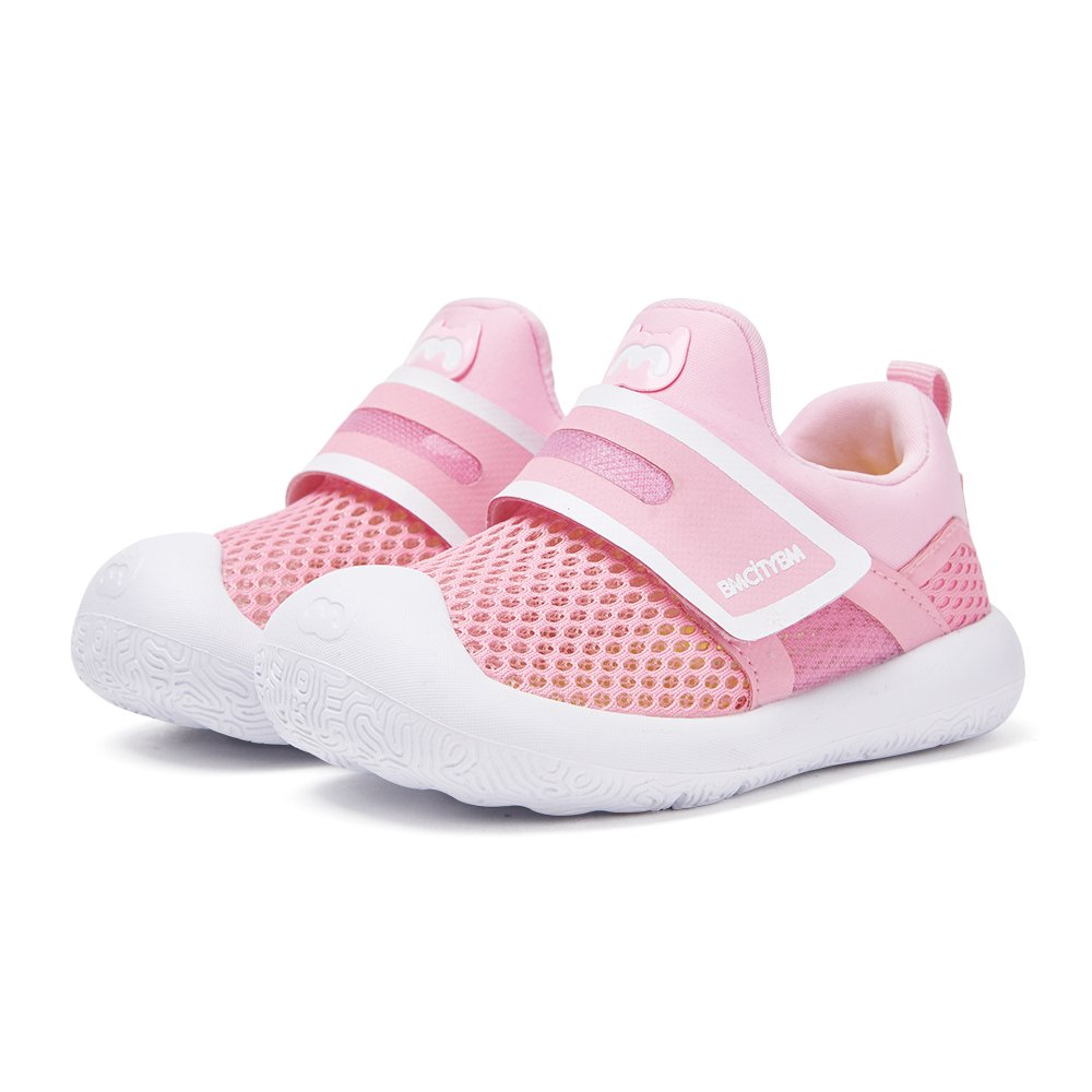 Baby Shoes First Walkers Breathable Kids Beach Shoes Pink Sneaker by BMCITYBM by BMCITYBM