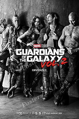 Posters Usa   Marvel Guardians Of The Galaxy Vol  2 Ii Movie Poster Glossy Finish   Mov830  24  X 36   61Cm X 91 5Cm