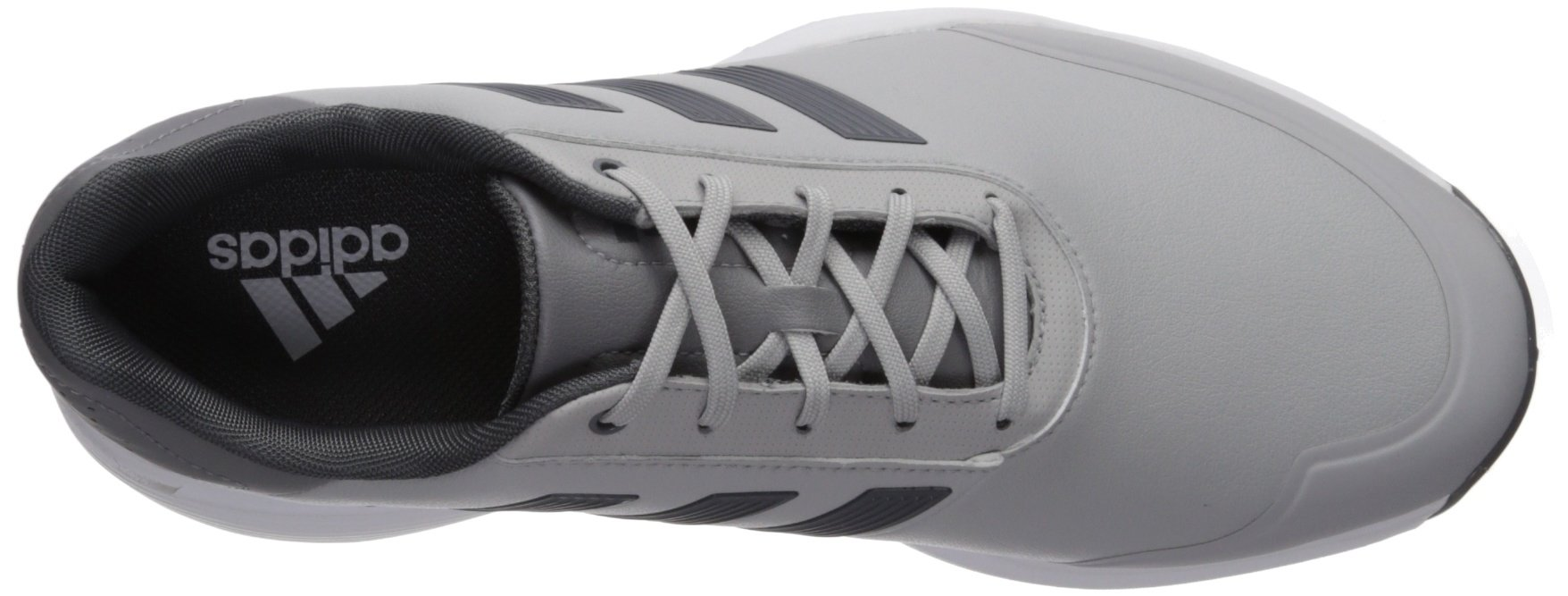 adidas Men's Adipower Bounce WD Golf Shoe, Two Five Grey Three Fabric, 12 Wide US