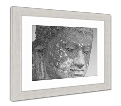 Amazon.com: Ashley Framed Prints Head of The Aksobhya Statue 8th ...