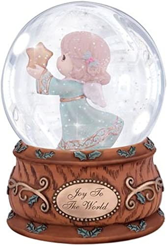 Precious Moments Joy to the World Musical Water Globe