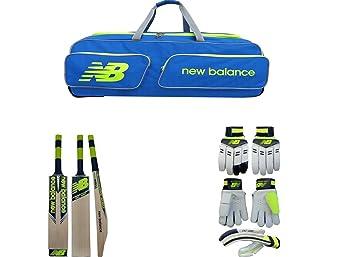 771e610e88 New Balance Combo Of Club Wheelie Cricket Kit Bag & DC480 Kashmir Willow  Cricket Bat &
