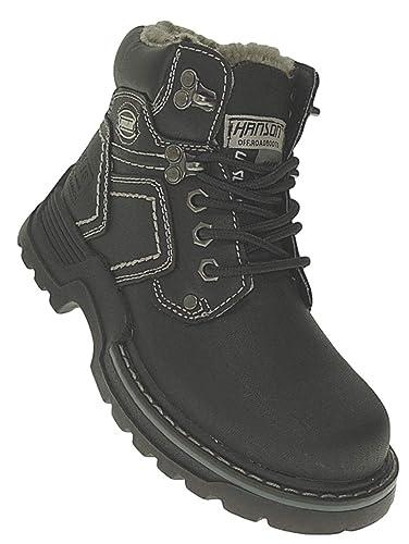 separation shoes 7d73a 09ccb Bootsland 992 Winterstiefel Jungen Herren Stiefel Winterschuhe Herrenstiefel