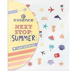 Essence Coast N Chill Nail Sticker 01 The Coast My Nails