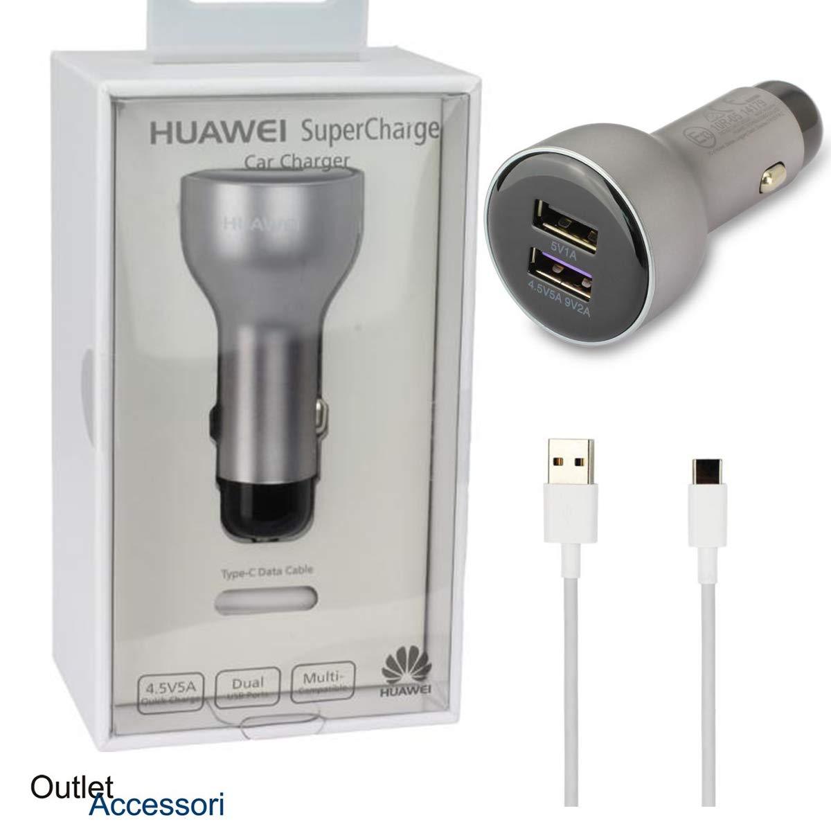 Huawei Car Charger Supercharge Super AP38 Cargador de Coche Doble ...