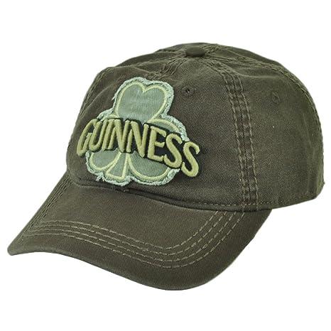 Guinness cerveza irlandesa Alcohol Clip hebilla sombrero gorra ...