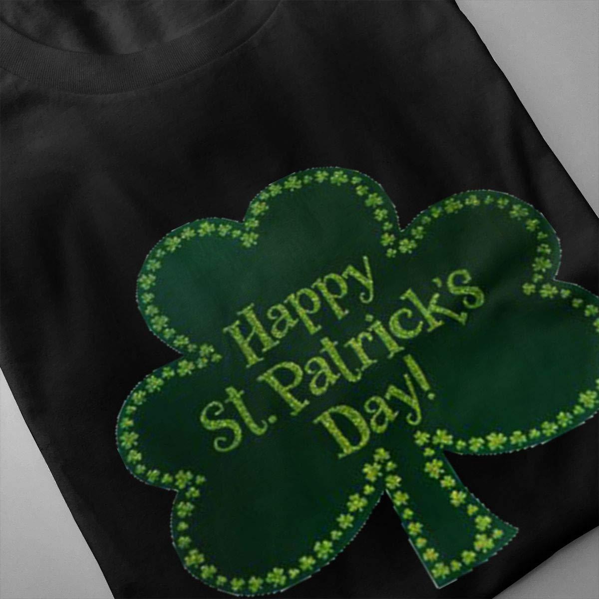 Marsherun Mens Irish ST Paddys Day Shamrock Comfortable Short Sleeve T Shirts