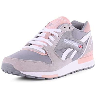 Reebok Athletic GL 6000L Baskets pour femme Rose Grey Pink, 40