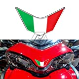 3D Resin Motorcycle Front Fairing Decals Italy