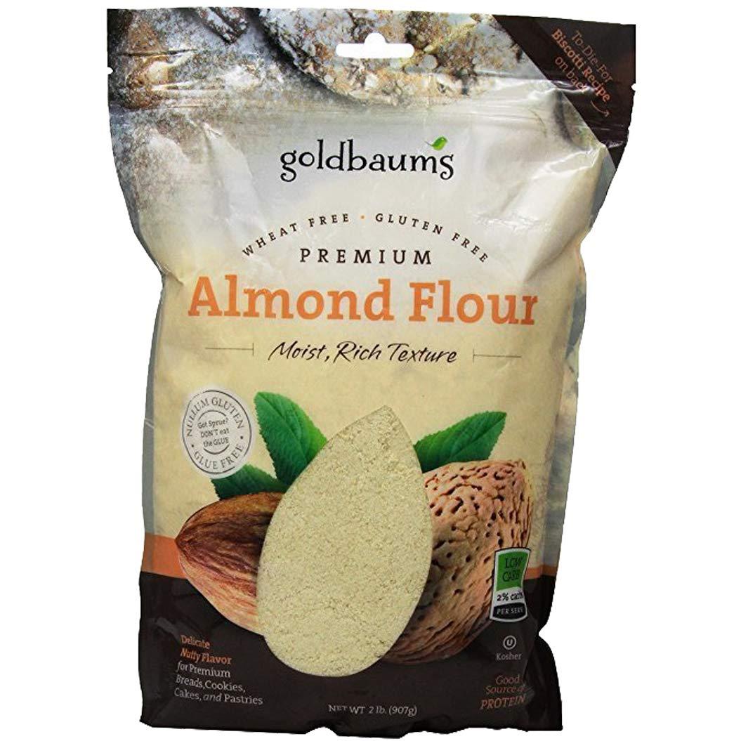 Goldbaum's Almond Flour Bag, Kosher For Passover, 32 Ounce Bag (Single)
