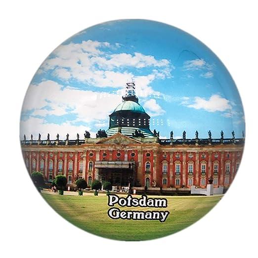 Weekino Souvenir Nuevo Palacio Potsdam Alemania Imán de Nevera ...