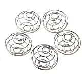 5X LAOMAO Stainless Blender Mixing Ball Protein Mixer Shaker Bottle Cup Wire Whisk (5pcs ball)