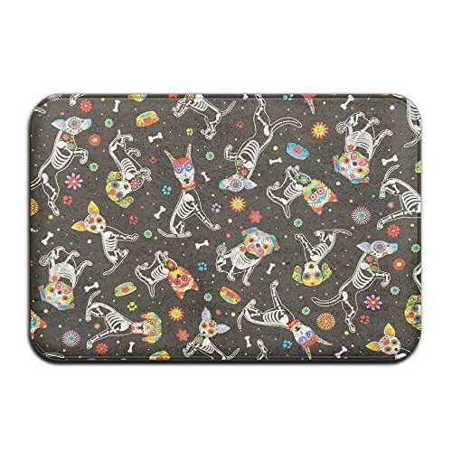 sugar skull door mat - 9