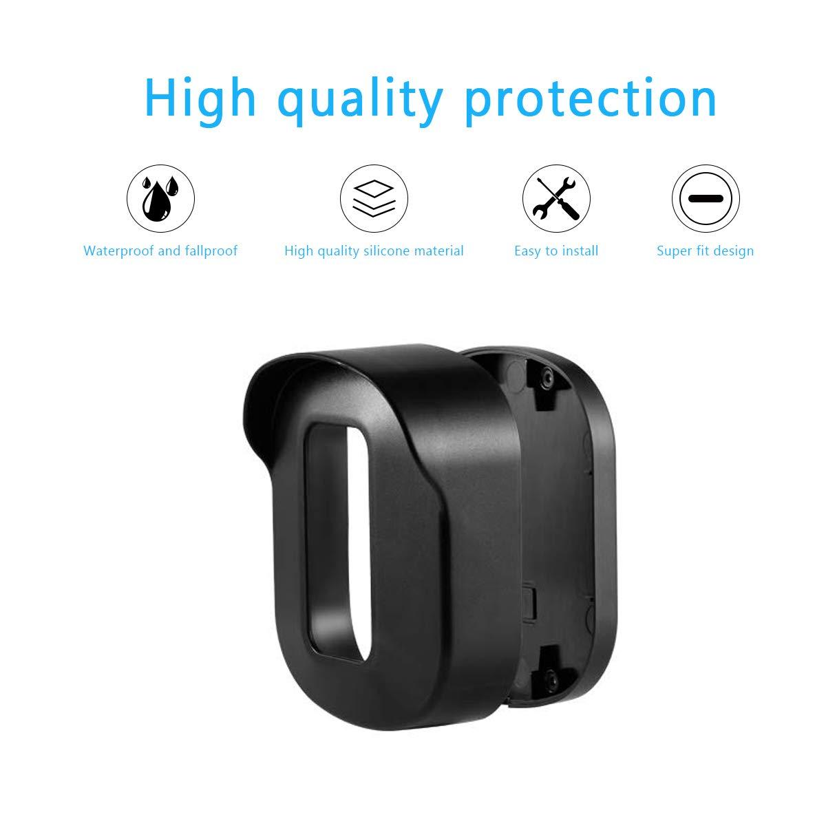 Cubierta Protectora con Soporte Ajustable para Sistema de c/ámara de Seguridad para el hogar Blink XT Soporte de Pared Blink XT Sonomo Resistente a la Intemperie