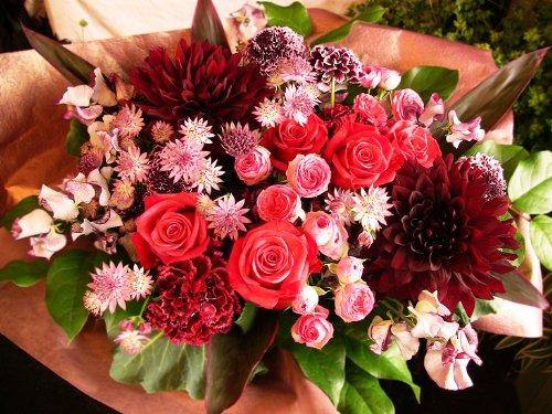 プレゼントに最適!石ケンとお花のコラボサボンドフルール(M) B00K19P398