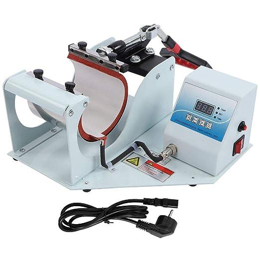Máquina de impresión, 350W Impresora digital multifunción Taza de ...
