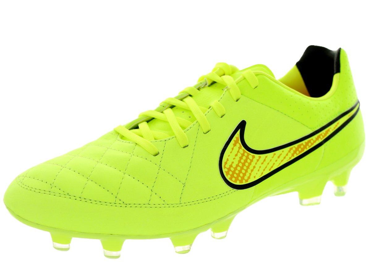 Nike Schuhe Herren Tiempo legacy fg Volt volt-hyper punch-schwarz