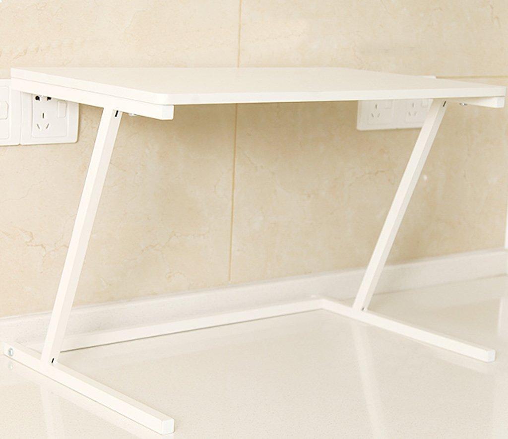L& Y Mobili da cucina Mensole per forno a microonde Mensole per cucina Mensole a due piani Mensole per immagazzinamento a due piani Scaffale