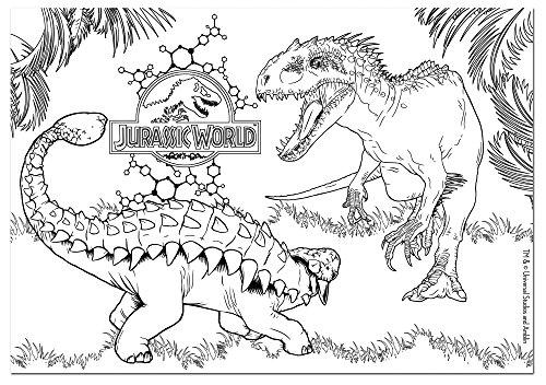 Più Recente Jurassic World Da Colorare E Stampare Disegni Da Colorare